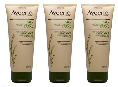 Aveeno moisturising lotion with naturally active colloidal oatmeal (3pk) by Aveeno