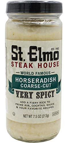 St. Elmo Steak House Horseradish Coarse-Cut