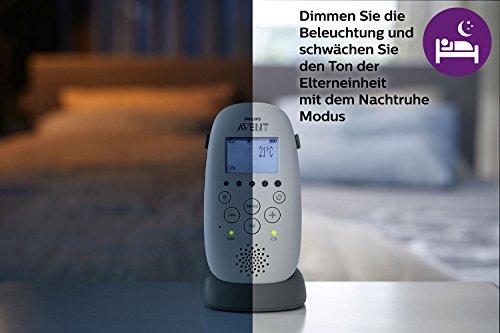 Philips Avent Audio-Babyphone SCD733/26, DECT-Technologie, Eco-Mode, Sternenhimmel, 18 Std. Laufzeit - 6