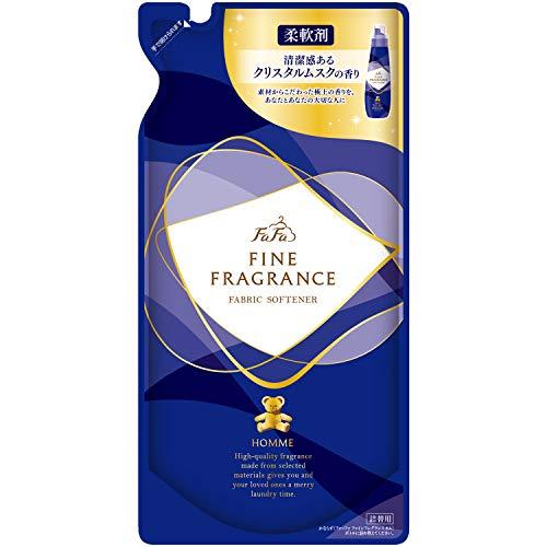 ファーファ ファインフレグランス 濃縮柔軟剤 オム (homme) 香水調クリスタルムスクの香り 詰替用 500ml