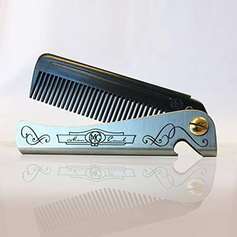 社員引退したモニターNew 'Carbon' Man Comb. A seriously strong folding comb and bottle opener. [並行輸入品]