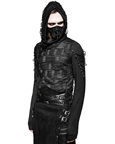 punk rave decay mens hoodie