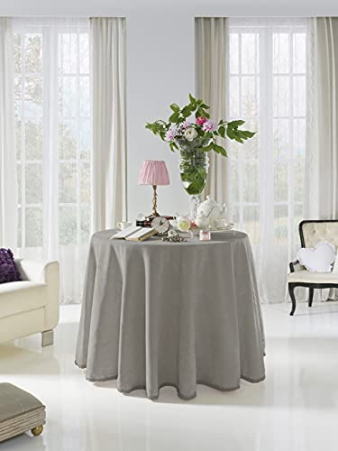 Acomoda Textil - Falda para Mesa Camilla Terciopelo,...
