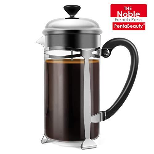 Best Price French Press Coffee Maker, (8 Cups/ 34 oz) Durable Easy Clean Coffee Pot Heat Resistant B...