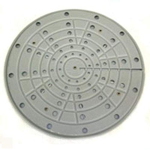 Veca 056 Tu-ka piastra termica in acciaio 20cm, Steel, grey