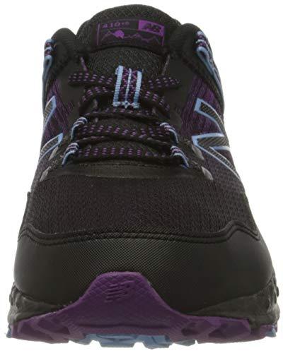 New Balance 410v6 Trail, Zapatillas de Deporte Mujer, Black, 39 EU