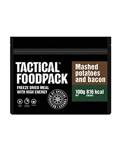 Foodpack Tactical Mashed Potatoes and Bacon