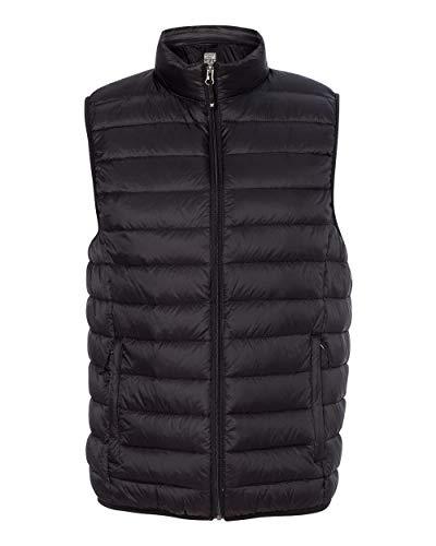Weatherproof Mens 32 Degrees Packable Down Vest (16700) -Black -XL