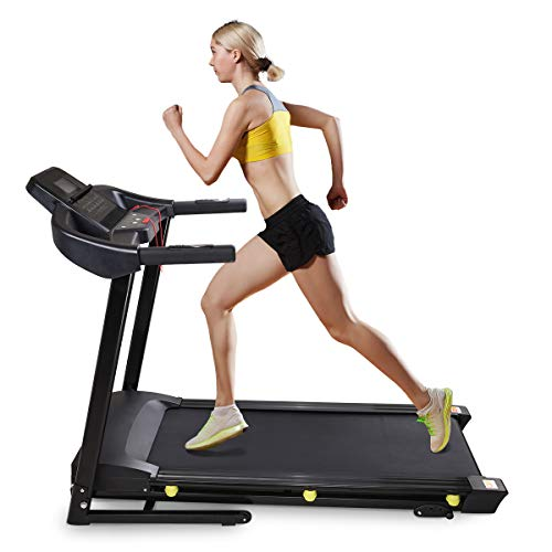 AW Folding Electric Treadmill Walking Jogging Portable Running Machine Cardio Exercise Fitness for Home Cardio Exercise
