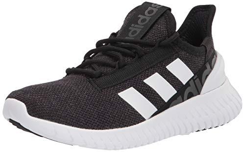 adidas Men's Kaptir 2.0 Running Shoes, Black/White/Grey, 11