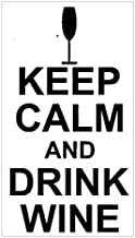 Keep Calm And Drink Wine cork Coasters doily Cup Mat Table mat Coffee pad Insulation mat