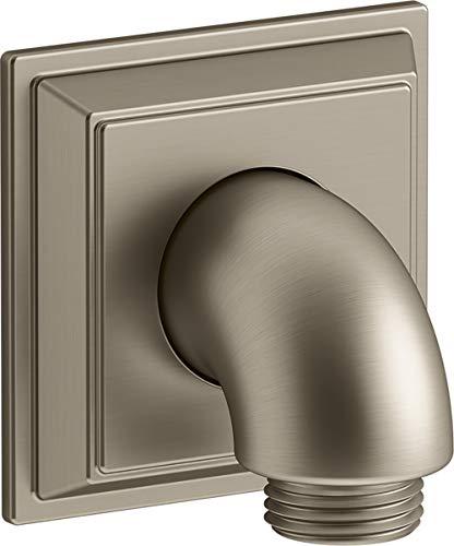 Kohler 22171-BV Codo de suministro, Bronce cepillado vibrante