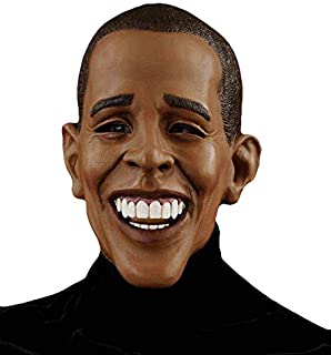 Men's Barack Obama Deluxe Latex Mask