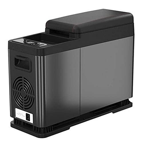 Refrigerador de yate de automóvil, refrigerador de control de temperatura inteligente, refrigerador de control remoto de enfriamiento rápido,8L, fuente de alimentación de voltaje de coche 12V / 24V
