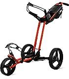 Sun Mountain Pathfinder 3 Wheel Push Cart (Inferno Black Color)