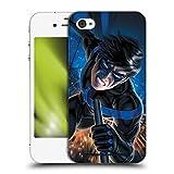 Head Case Designs sous Licence Officielle Batman DC Comics Costume Logo Bleu # 60 2019 Nightwing Coque Dure pour l'arrière Compatible avec Apple iPhone 4 / iPhone 4S