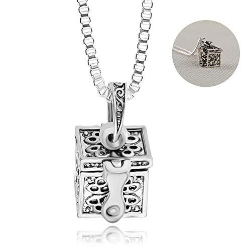 Huisdier crematie Locket sieraden, hond Urn kettingen voor as niet langer door mijn kant voor altijd, kat ketting voor as Memorial Keepsake Hanger