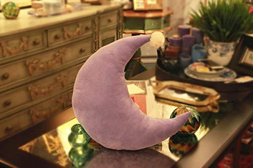 Almohada de Luna rellena de Felpa, Juguete de Felpa, Almohada Suave y Bonita, sofá Cama, cojín Kawaii, niña, 45 cm / 17,7 Pulgadas Style4