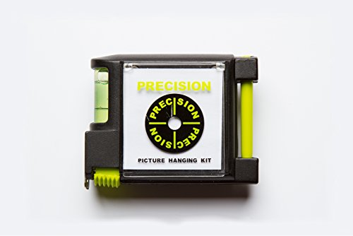 Precision 4-in1 Tape Measure with Level, Paper & Pen