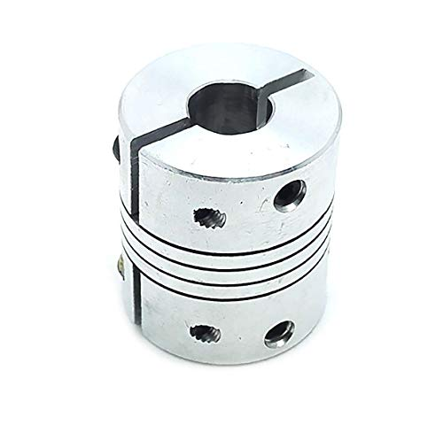 Coupler Shaft Sleeve Shaft Coupling Shaft Coupling Connector GS‑82x68‑20x20 for Power Transmission System CNC Stepper Motor Accessories