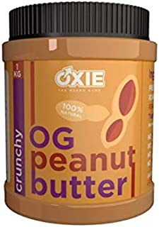 Oxie Nutrition Peanut Butter Cruchy (1Kg)