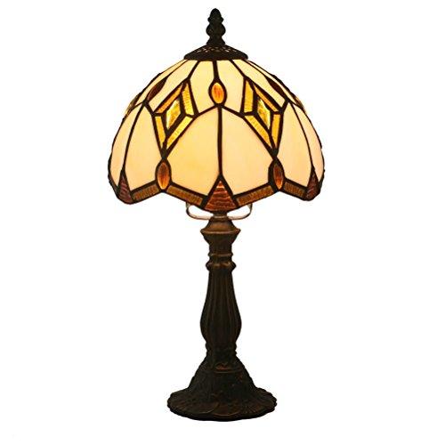 Odziezet Tiffany Stil Glasmalerei Lampe Lichter Tiffany-Style Retro Luxus Wandleuchten Libelle Design Malerei Glasmalerei Harz Wandlampe