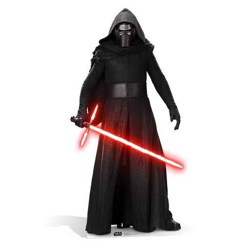 Offizielle Star Wars Ausschnitte, Pappe, Kylo Ren, 18 x 18 x 8 cm