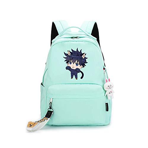 ZZGOO-LL Jujutsu Kaisen Itadori Yuji Mochilas de Anime Mochila Escolar para Estudiantes Mochila para portátil