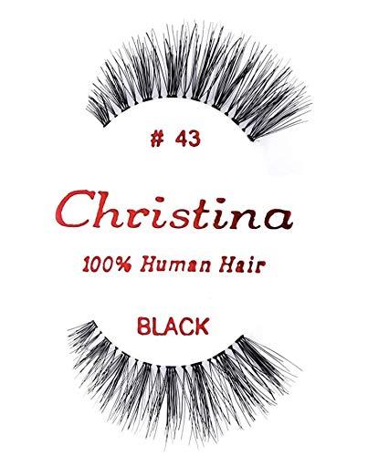 24 Packs Eyelashes - #43 by Christina