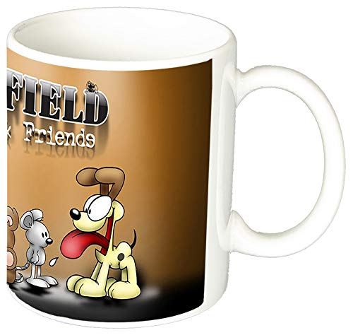 MasTazas Garfield Y Amigos Garfield and Friends Tasse Mug