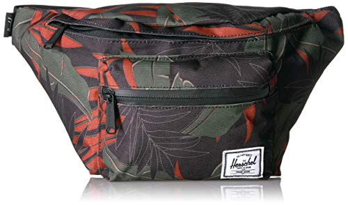 Herschel Seventeen Hip Pack Dark Olive Palm