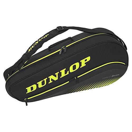 DUNLOP SX Performance 3 Pack Thermo Tennis Tasche schwarz gelb (black)