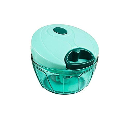 SXXYTCWL Vegetable Chopper Slicer,Stainless Steel Blade Household Manual Meat Grinder Pull Cutting Pepper Mixer Dumpling Stuffing Minced Meat Artifact Safety/A / 92Mm jianyou (Color : B)