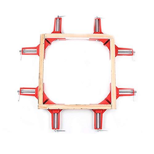Busirde 90 Grad Rahmen Verstärkung Metallklammern rechtwinklig Klemme, 90-Grad-Clip Corner Halter Holzbearbeitung Handinstallationssatz-Werkzeug