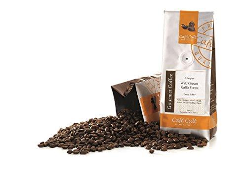 1kg - frischer Röstkaffee - Café Cult - Äthiopien - Wild Grown Kaffa Forest - ganze Bohnen