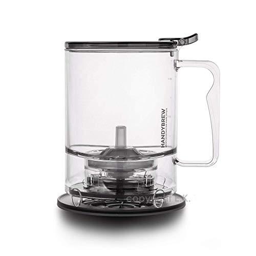 NEW HandyBrew Loose Leaf Tea Steeper Tea Brewer Tea Maker Loose Tea Strainer Tea Infuser Safe BPAFree Plastic HassleFree Ways Make Tea 17 Fl Oz