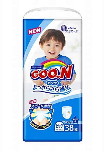 Pañales japoneses - bragas Goo.n PB Boy (12-20 kg) 38 psc//Japanese diapers nappies - Goo.n PB Boy (12-20 kg) 38 psc // Японские подгузники-трусики Goo.n PB Boy (12-20 kg)38psc