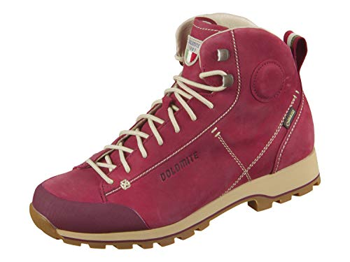 Dolomite Damen Bota High Cinquantaquattro HOCH FG W GTX Stiefel, Burgunder Rot, 37 1/3 EU