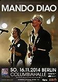 Mando Diao - The Band, Berlin 2014 » Konzertplakat/Premium