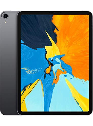 Apple iPad Pro (11-inch, Wi-Fi, 64GB) - Space Gray (2018) (Renewed)