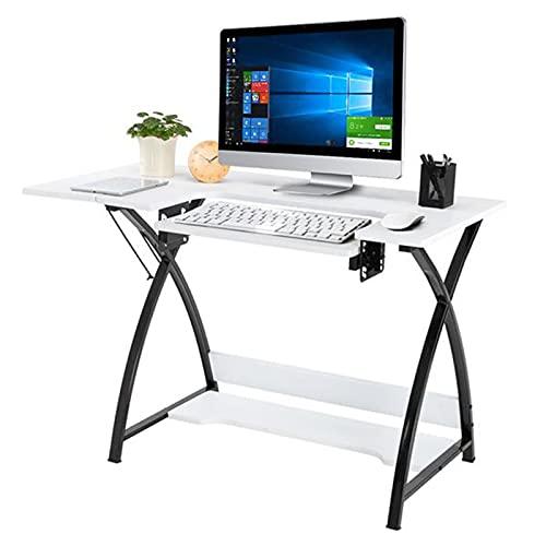 Mesa De Ordenador, Escritorio Casa Y Habitación Juvenil, Diseño Moderno, Mesa Oficina, Mesa Estudio, Montaje Simple, Diseño Industrial, 46 X 23.5 X 30