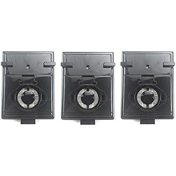 Basage 3Pcs / Lot Reemplazos de Filtro Hepa para Rainbow Rexair E2 Series Parte R12179 y R12647B Accesorios para Filtros de Aspiradora: Amazon.es: Hogar