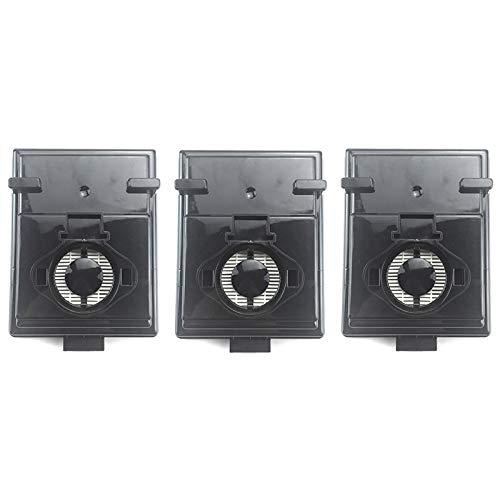 SODIAL 3Pcs / Lot Reemplazos de Filtro Hepa para Rainbow Rexair E2 Series Parte R12179 y R12647B Accesorios para Filtros de Aspiradora