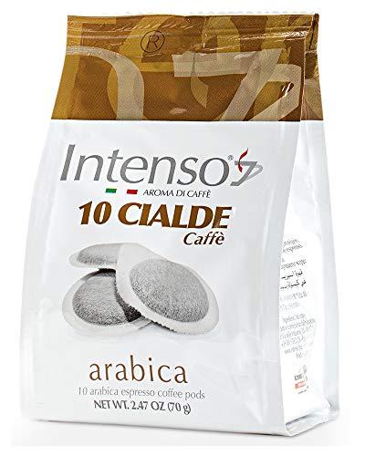 6x Intenso Cialde Caffè Arabica Espresso Pads Kaffee Beutel mit 10 kaffeepads