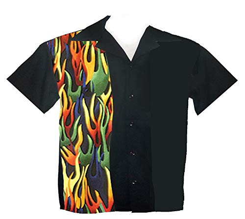 Tutti Boys Bowling Shirts Youth Sizes Small 8-9 Yrs, Medium 10-11 Yrs, Large 12-13 Yrs (Medium 10-11 Yrs)