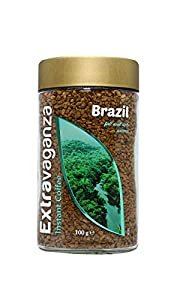 Extravaganza - Café soluble Brasil, 100 g (lote de 6)
