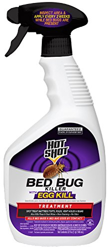 Hot Shot Bed Bug Killer With Egg Kill, Ready-to-Use, 32-Ounce