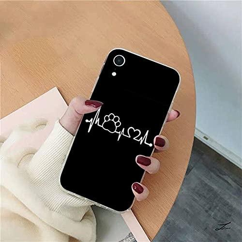 Mejores Amigos Funda Suave para teléfono para iPhone 12pro MAX 11 Pro XS MAX 8 7 6 6S Plus X 5S SE 2020 XR Fundas, A, para 11 Pro MAX