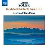Antonio Soler : Sonates pour clavier n° 1 à n° 15