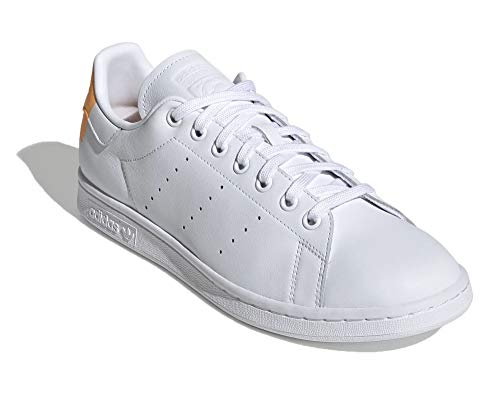 adidas Hombre Stan Smith Zapatillas Blanco, 38
